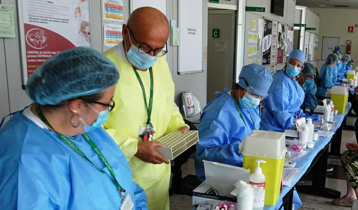 Test per il coronavirus
