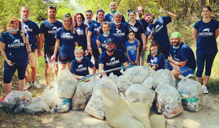 Raccolta rifiuti volontari