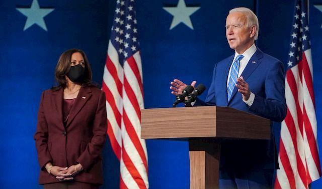 Joe Biden, Presidente eletto