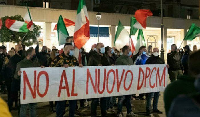 Protesta sul dpcm