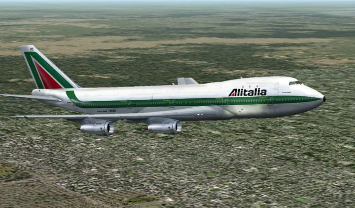 747 Alitalia