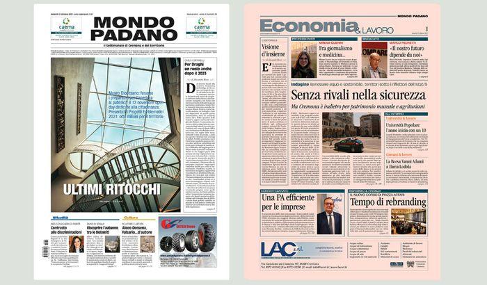 Mondo Padano prime pagine Web